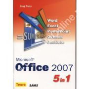 MICROSOFT OFFICE 2007 5 in 1. WORD, EXCEL, POWERPOINT, OUTLOOK, ONENOTE