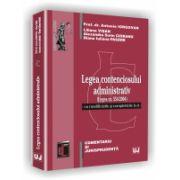 LEGEA CONTENCIOSULUI ADMINISTRATIV - (Legea nr. 554/2004) cu modificările şi completările la zi