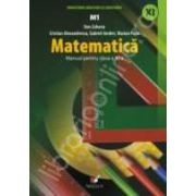 MATEMATICA M1. MANUAL PENTRU CLASA A XI-A