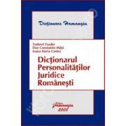 Dictionarul personalitatilor juridice romanesti