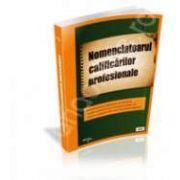 Nomenclatorul calificarilor profesionale din Romania