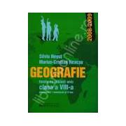 Geografie. Tezele cu subiect unic - Clasa a VIII-a semestrul I / semestrul al II-lea