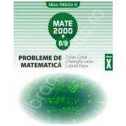 MATE 2000+8/9.PROBLEME DE MATEMATICA. CLASA A X-A