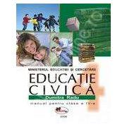 Educatie civica. Manual clasa a IV-a - Radu