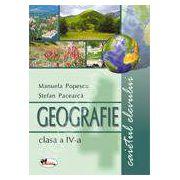 Geografie. Caietul elevului pentru clasa a IV-a - Pacearca