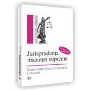 Jurisprudenta instantei supreme in unificarea practicii judiciare (1956-2008 in materia civila)