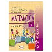 Matematica. Caietul elevului pentru clasa a IV-a. Partea I - Aurel Maior