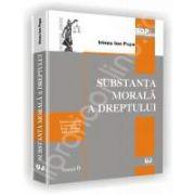 Substanta morala a dreptului