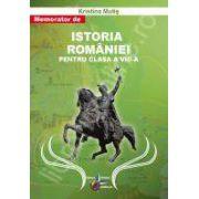 Istoria Romaniei memorator pentru clasa a VIII-a