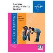 Ajutoare acordate de stat familiei
