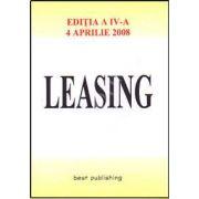 Leasing. Editia a IV-a