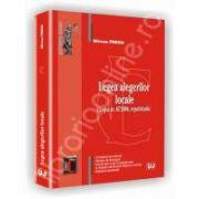 Legea alegerilor locale. Legea nr. 67/2004, republicata