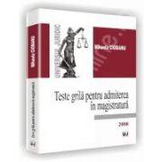 Teste grila pentru admiterea in magistratura. 2008