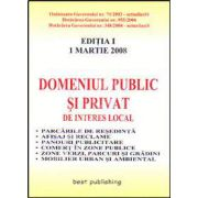 Domeniul public si privat de interes local. Editia I