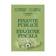 Finante publice si evaziune fiscala