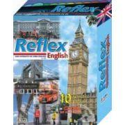 Curs interactiv Reflex English cu zece reviste, zece Cd-uri si microfon