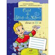 Stiinte ale Naturii, caiet pentru clasa a III-a