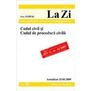 Codul civil si Codul de procedura civila  (actualizat la 25.05.2009)