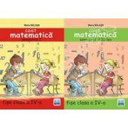 Caiet Matematica clasa a IV-a - semestrul I si II