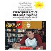 Exercitii practice de limba romana. Competenta si performanta in comunicare clasa a VIII-a