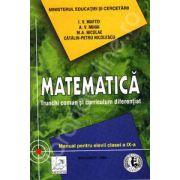 Matematica manual clasa a IX-a