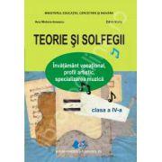Teorie si solfegii, manual pentru clasa a IV-a