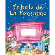 Fabule de La Fontaine (carte cu fereastra)