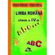Culegere Limba romana Clasa a IV-a