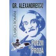 Poezii si proza (Grigore Alexandrescu)