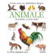 Cartea mea cu abtibilduri despre animalele de la ferma...si multe altele!