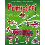 Uimitoarea carte despre pompieri - cu abtibilduri