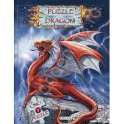 Dragoni carte cu 5 puzzle