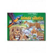 Animale salbatice (puzzle)