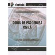 Codul de procedura civila (Actualizat: noiembrie, 2009)