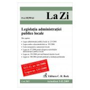 Legislatia administratiei publice locale (actualizat la 01.09.2009)