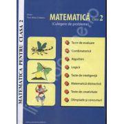 Matematica pentru clasa a 2-a. Culegere de probleme