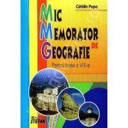 Mic memorator de Geografie clasa a VIII-a