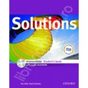 Solutions Intermediate Students Book with MultiROM