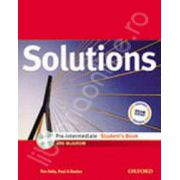 Solutions Pre-Intermediate Students Book with MultiROM