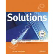 Solutions Upper Intermediate with MultiROM Students Book