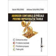 Abordari contabile si fiscale privind impozitele si taxele