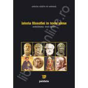 Istoria filosofiei in texte alese