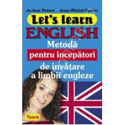 Let s Learn English - Metoda pentru incepatori de invatare a limbii engleze