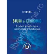 Studii de economie. Contributii de analiza logica, epistemologie si metodologica