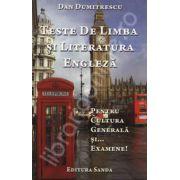 Teste de cultura si literatura engleza