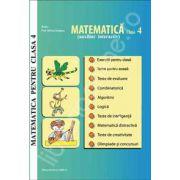 Matematica pentru clasa a 4-a. Auxiliar interactiv