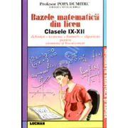 Bazele matematicii din liceu - clasele IX-XII