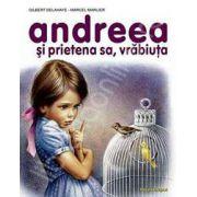 Andreea si prietena sa, vrabiuta
