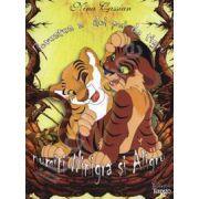 Povestea a doi pui de tigru numiti Ninigra si Aligru
