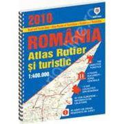 Atlas rutier si turistic Romania 2010 - 2011